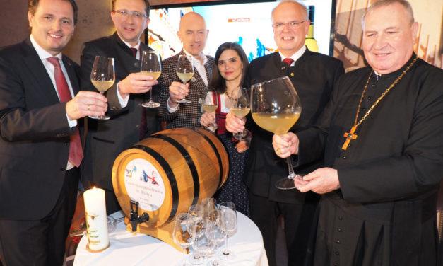 Der neue NÖ-Landeshaupststadt  Wein kommt aus Krems