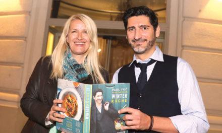 Paul Ivic präsentiert seine vegetarische Winterküche
