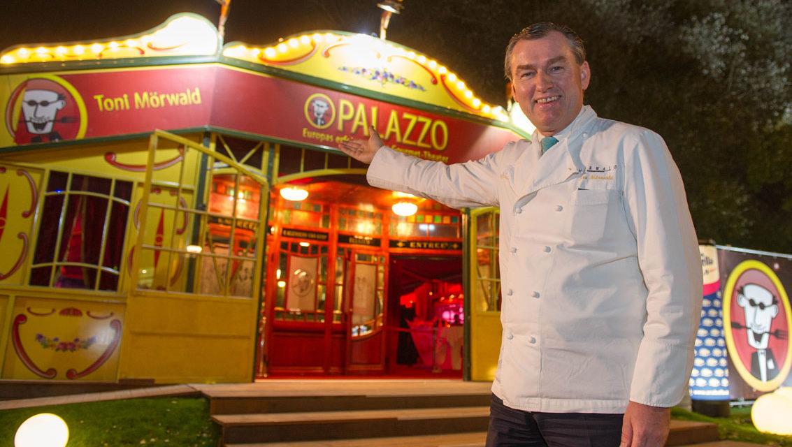 """Der Toni Mörwald PALAZZO in Wien  mit der neuen Dinnershow """"Kings & Queens"""""""