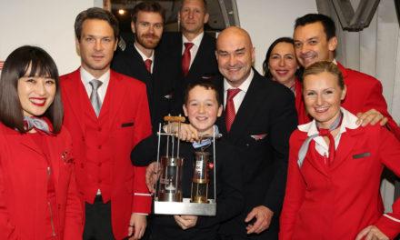Alle Jahre wieder: ORF- Friedenslicht fliegt mit Austrian Airlines nach Österreich