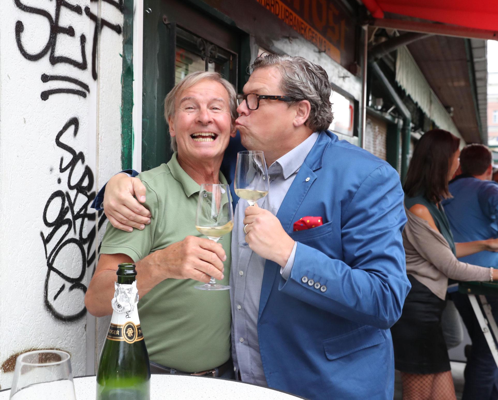 Für diesen köstlichen Champagne Pol Roger