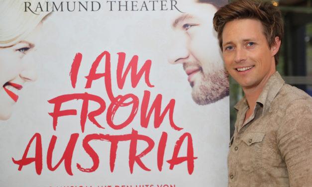 """Durchatmen vor der Premiere  des neuen Musicals """"I am from Austria"""""""