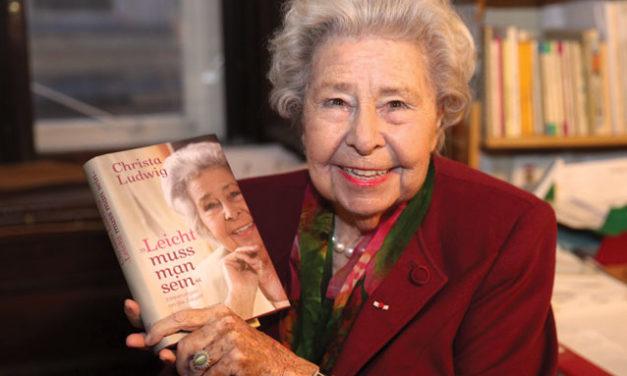 Viele Überraschungen zum 90. Geburtstag von KS Christa Ludwig