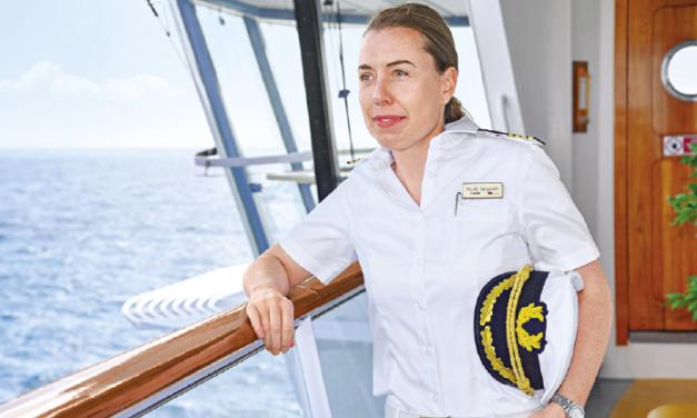 Aye Aye , Madam! Die AIDA-Flotte hat Ihren ersten weiblichen Kapitän!