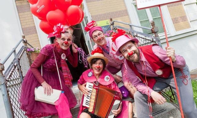 Ein hoch auf …. 20 Jahre  Rote Nasen Clowndoctors im Wilhelminenspital