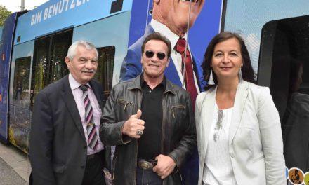 Arnord Schwarzenegger und die Lobau -Schildkröten