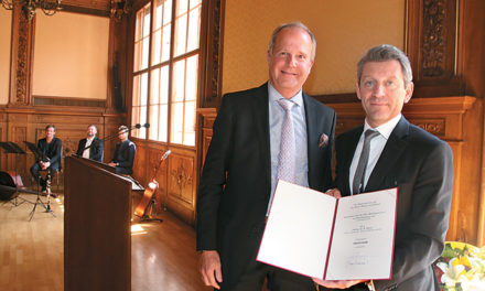 """Asset Networks – Chef Andy Gaiser darf sich jetzt ,,Professor"""" nennen"""