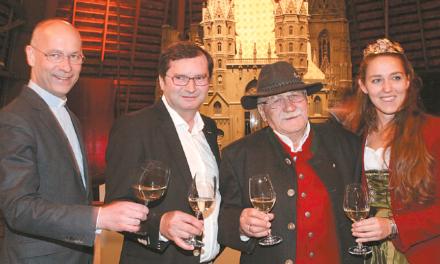 Norbert Walter's Geburtstag am Stephansdom