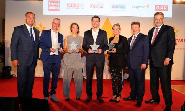 Applaus für die Wiener Sportstars 2018