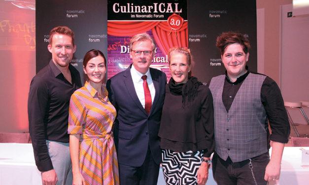 Vorgeschmack auf Wiens bereits drittes Culinarical.