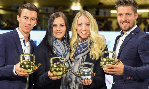 Hirscher, Veith und Kraft sind die Sieger der Goldenen Teekanne 2018
