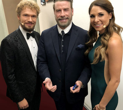 Österreichische Mentalmagie Weltmeister Verzauberten John Travolta