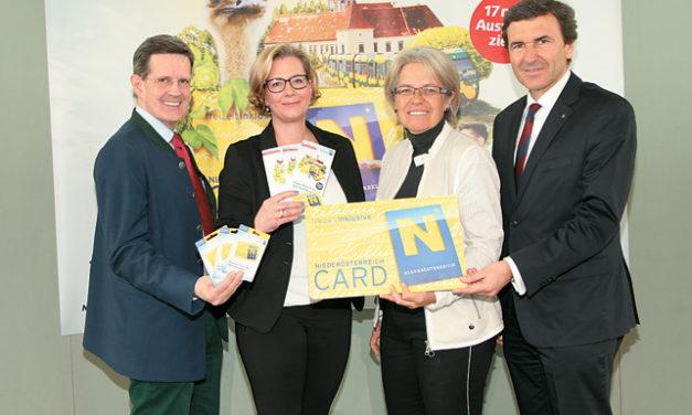 Die Niederösterreich – Card startet in die neue Saison