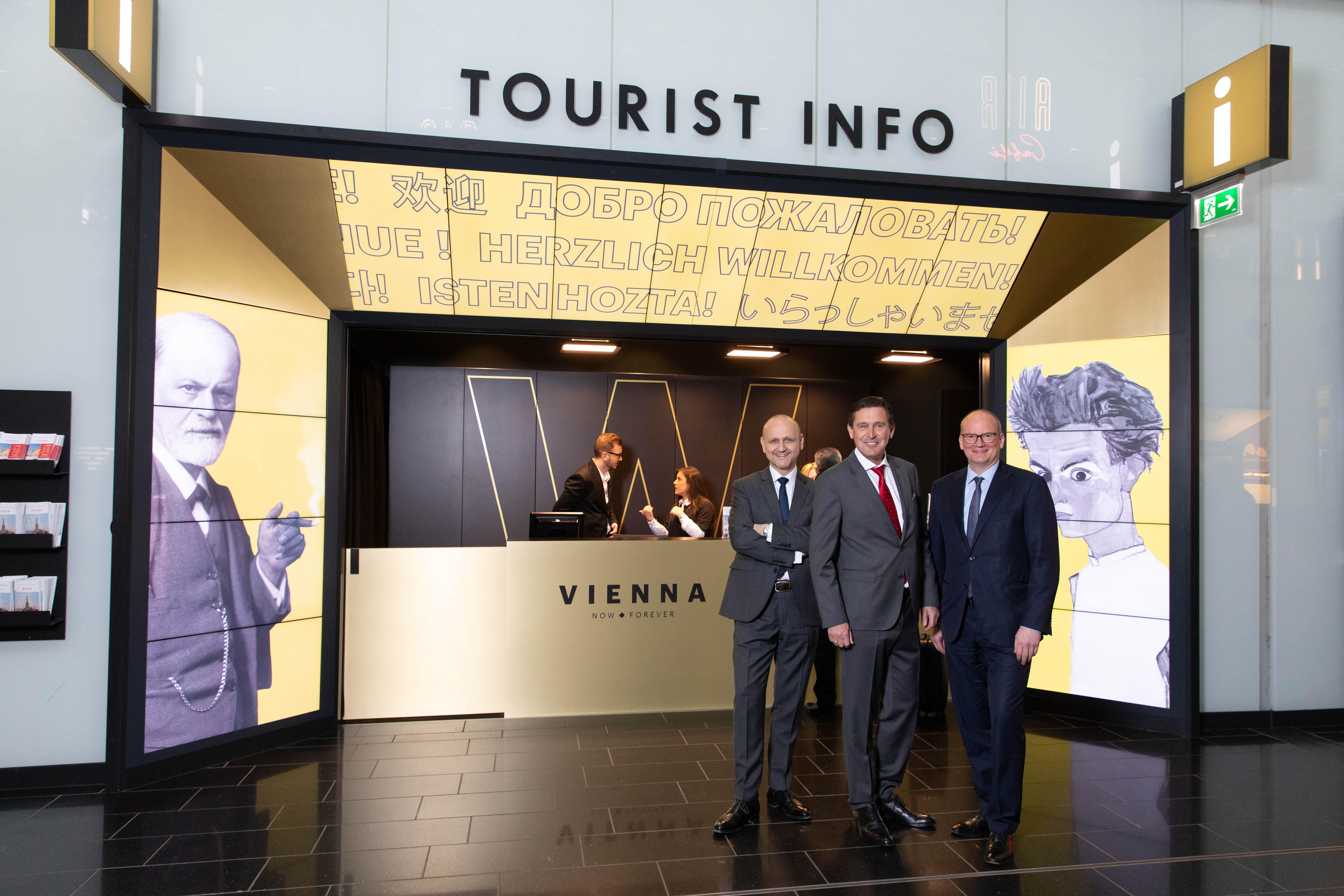 Tourist Info am Flughafen Wien