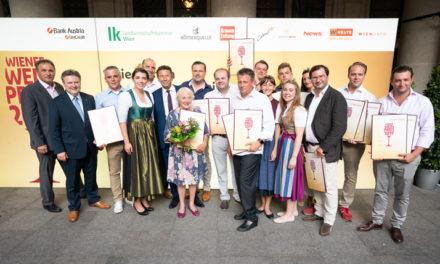 15. Wiener Weinpreis – die Landessieger 2019 und ein Publikumsliebling