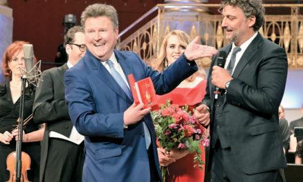 Goldener Rathausmann für Jonas Kaufmann