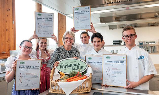 Nachwuchskräfte der Gastronomie vor den Vorhang!