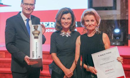 """Hermes Wirtschafts Preis: Elisabeth Gürtler ist erste ,, Entrepreneurin des Jahres"""""""