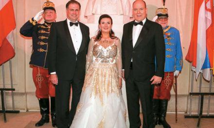Fürst Albert II. von Monaco in Wien geehrt