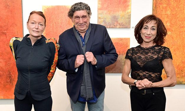 Doppelter Leinwandheld im Bank Austria Kunstforum